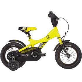 s'cool XXlite 12 alloy Kinder yellow/black matt